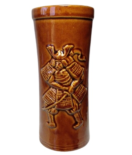 Japanese Samurai Warrior Tiki Mug